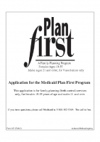 Plan First Application for people without children715